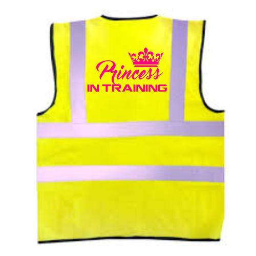 Princess In Training Kids Hi-Vis Vest