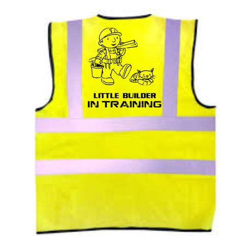 Little Builder In Training Kids Hi-Vis Vest