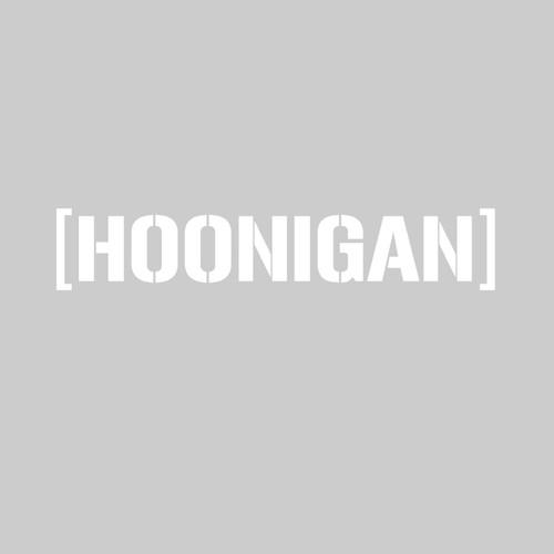 Hoonigan Decal