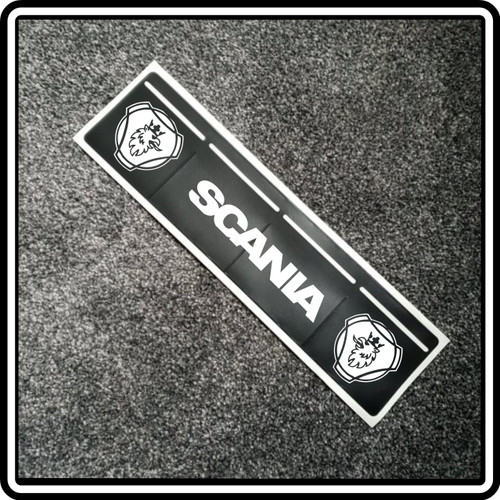 4 Pocket Tax Disc Holder - Scania