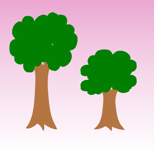 Small Tree Decal