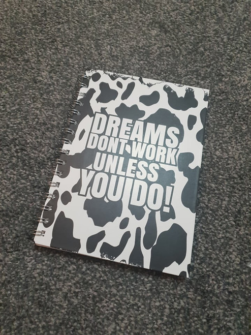 Animal Print Weekly Planner Notebook