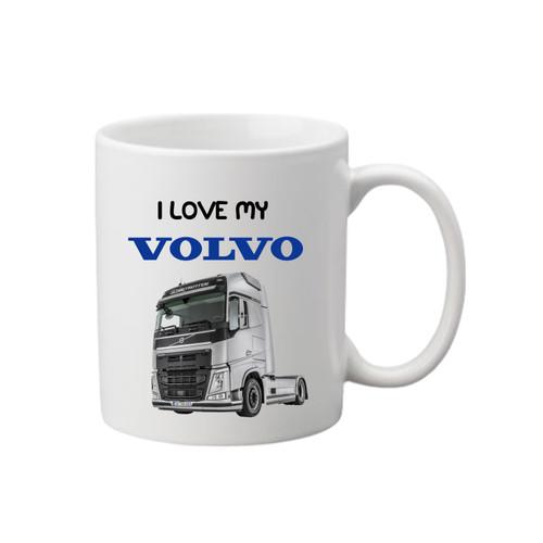 Volvo Printed Mug