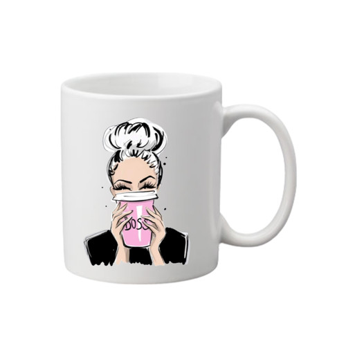 Boss Printed Mug