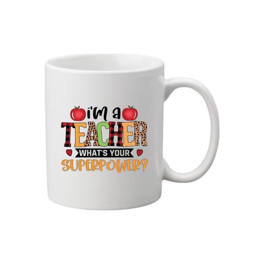 Teacher Printed Mug