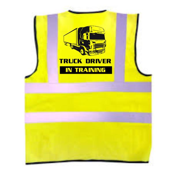 Truck Driver In Training Kids Hi-Vis Vest