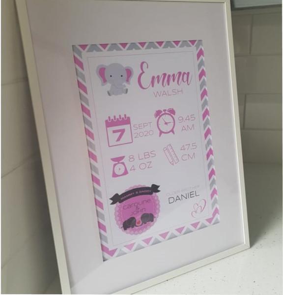 Baby Wall Print