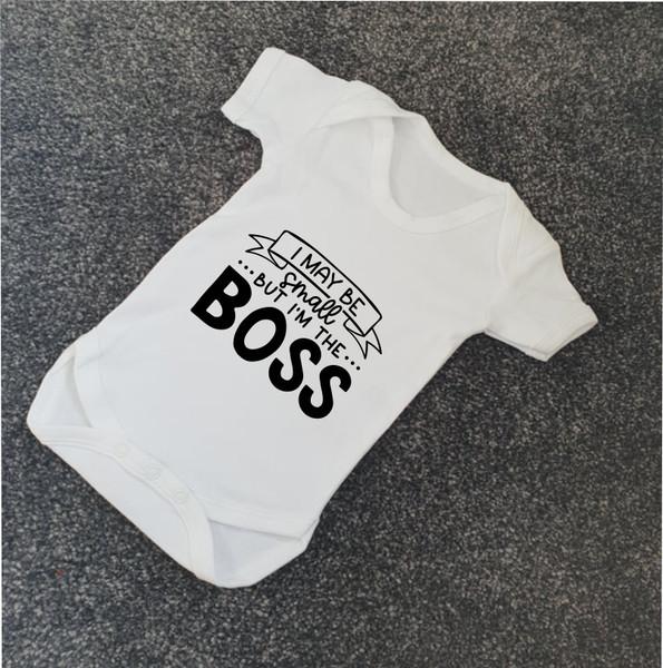 I'm The Boss Babygrow