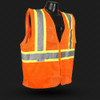 Radians SV225 Class 2 Fire Retardant with Two-Tone Trim Safety Vest is ANSI 107 Compliant FR protection.