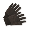 Brown Jersey gloves (12pair)