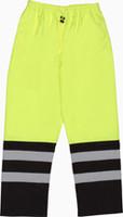 Class E Rain Pant Lime/Black