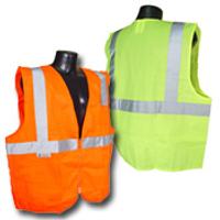 Class II Safety Vest - Hook N Loop Front 24ct case
