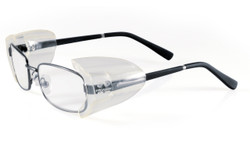 Side Shields, Prescription and safety glasses 12ct box