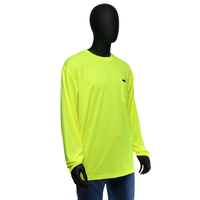 Long Sleeve Wicking Safety T-Shirt