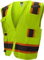 SV6-2ZGM Class 2 Surveyor  Safety Vest 24ct Case
