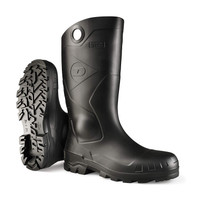 """Dunlop 14"""" Steel Toe PVC Boots - Made in the USA"""