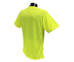 Radians 100% Polyester Safety T-Shirt  24ct Case XL