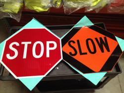 Stop Slow 24 Inch HIP Sign Head