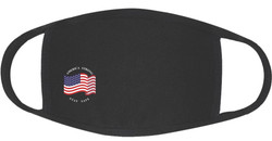 Face Mask 3-Ply Cotton/Spandex America Strong