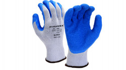 Pyramex GL503 Premium Latex dipped gloves  12ct pack