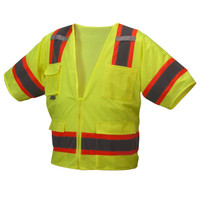 Class 3 Two Tone Safety Vest  RVZ3410 50ct Case