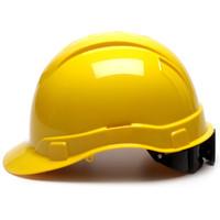 Pyramex Ridgeline Cap Style Hard Hat 16ct Carton Yellow