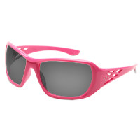 1e0420e6cf1f Fashionable pink safety glasses for women with Rhinestone design on temples