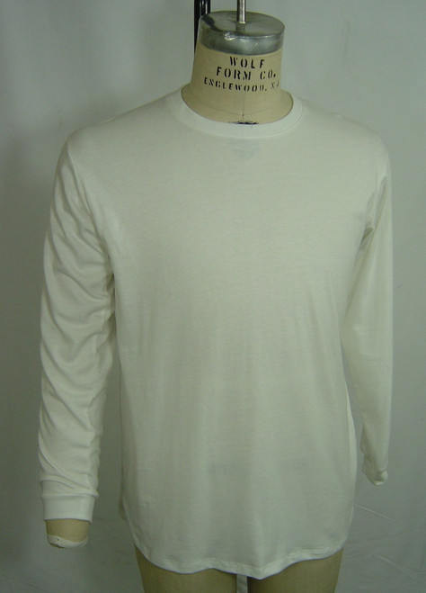 11005 M Reg Fit LS Crew Nk T Front photo