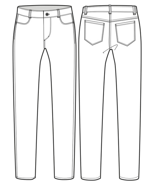 Womens Slim Fit Jean