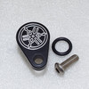 Tachometer Block Off Kit  Yamaha RD, RZ, MX, Banshee YSR