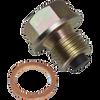 Magnetic Drain Plug 14mm, Steel