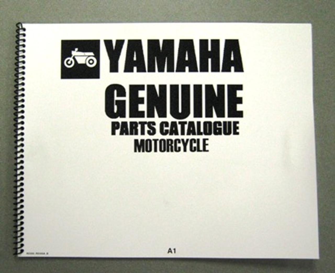 YAMAHA RD350 PARTS MANUAL
