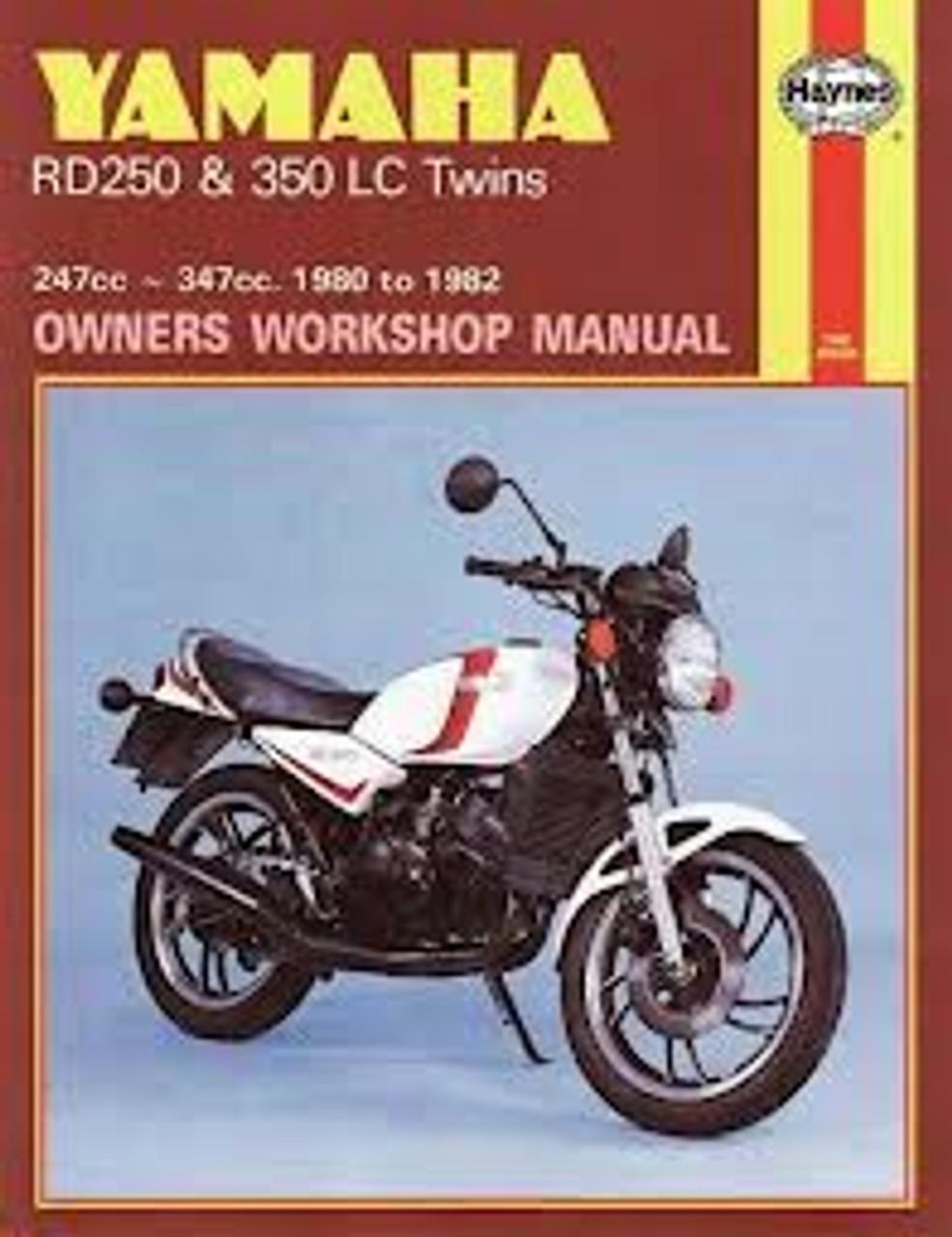 Yamaha RD250 and 350 LC Twins Haynes