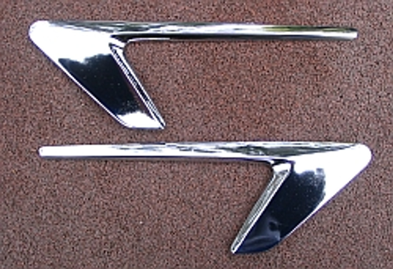 Yamaha AS3 '71-'73 Sidecover trims  YS16