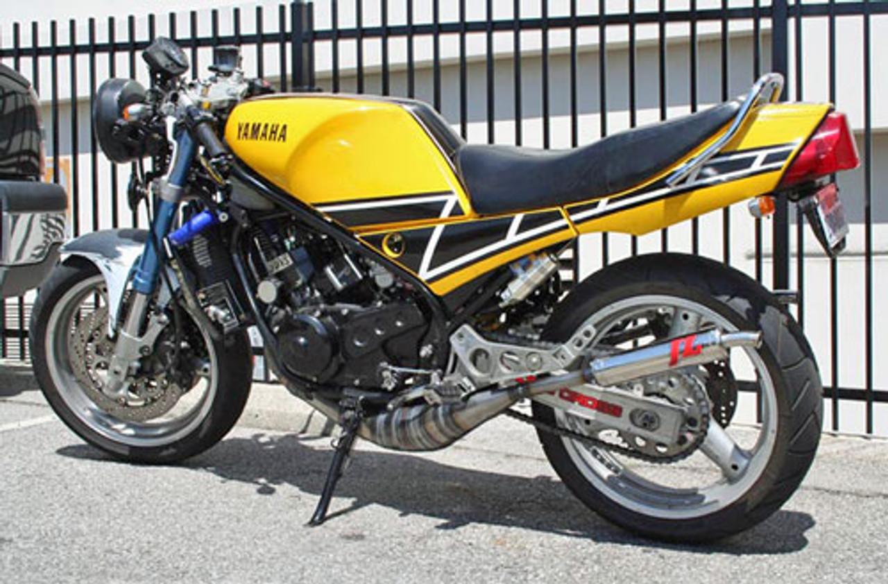 JL Exhaust Yamaha RZ350/RD350LC YPVS