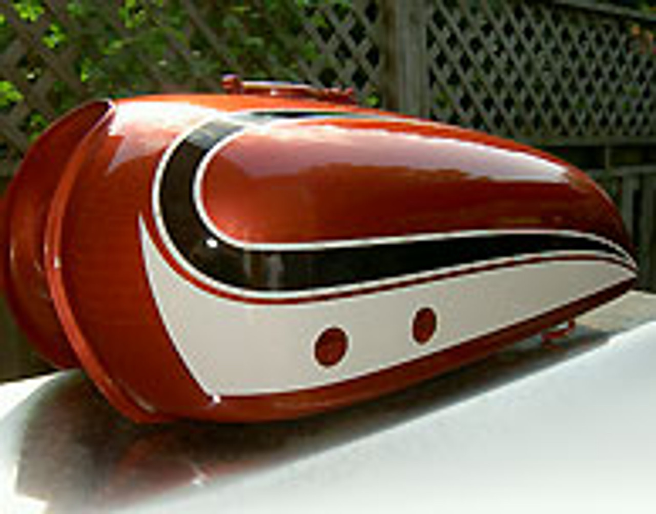 YAMAHA 1974 RD250 RD 250 OIL TANK SIDE COVER DECALS GRAPHICS