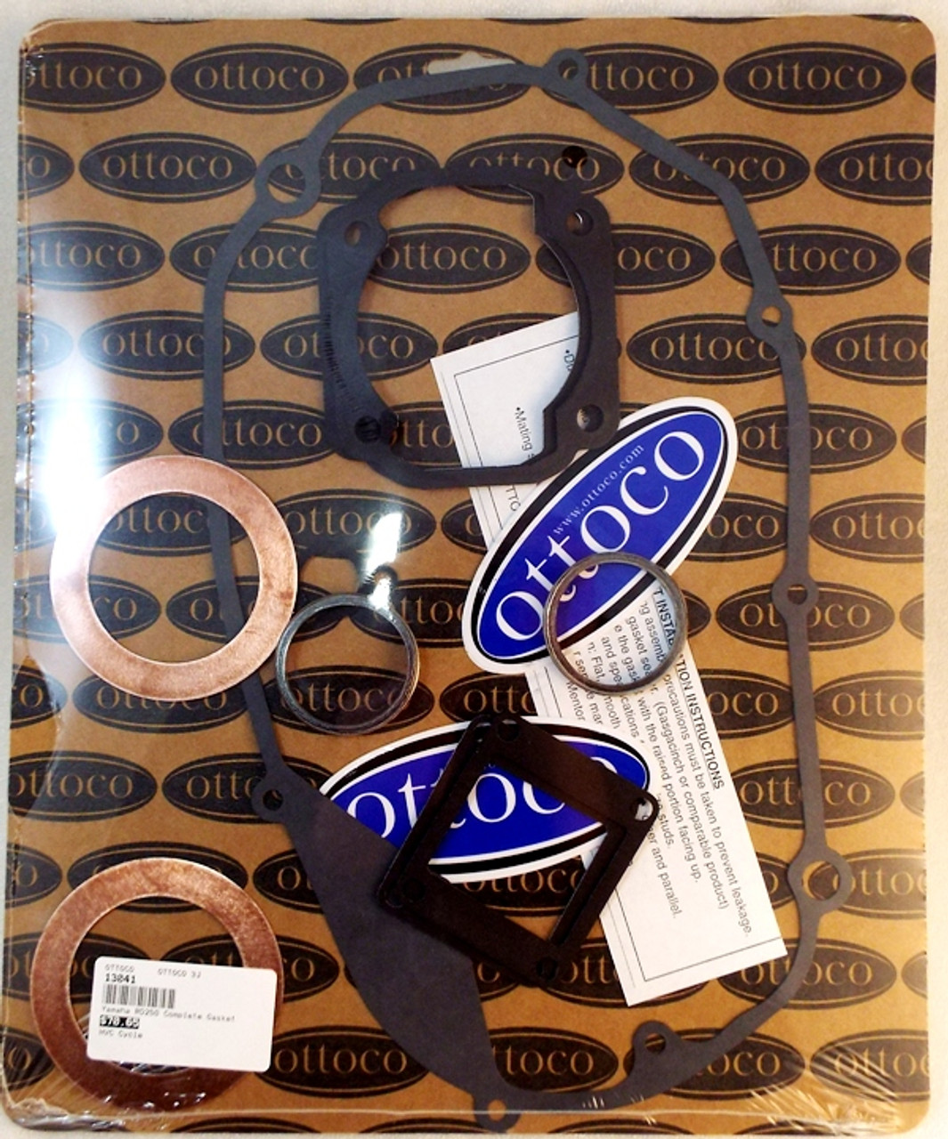 Yamaha RD250, DS7 Complete Gasket Kit, High Quality  CLE7766K