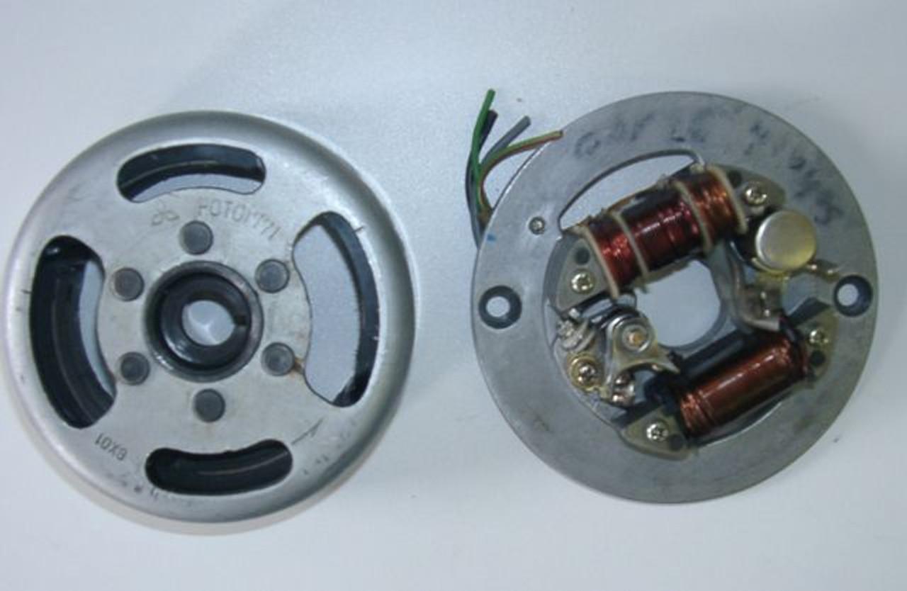 Original rotor and stator