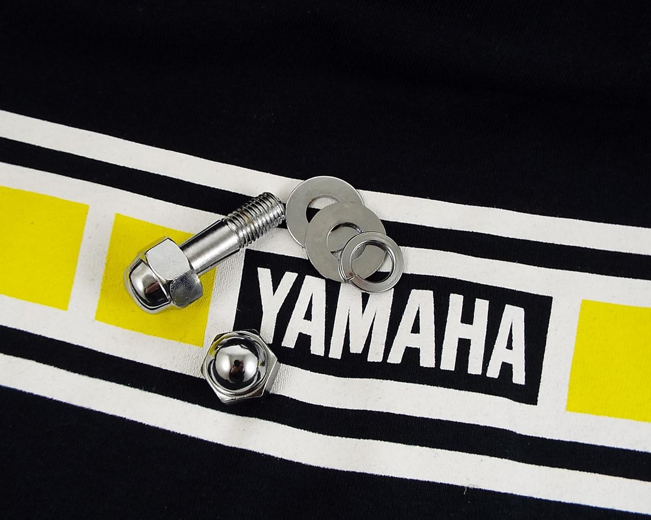 Brake Caliper Hardware Kit, Yamaha, Chrome.  HVC200139-1