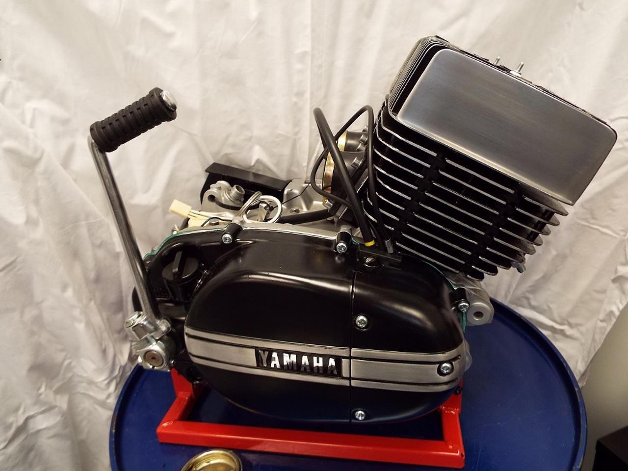 Yamaha RD350 Engine, restored.