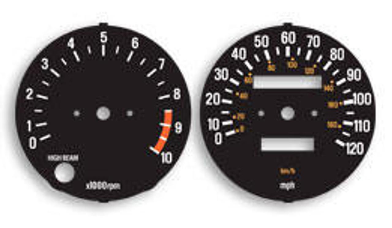 Yamaha RD400F 1979 Gauge Faces HVC20087-15