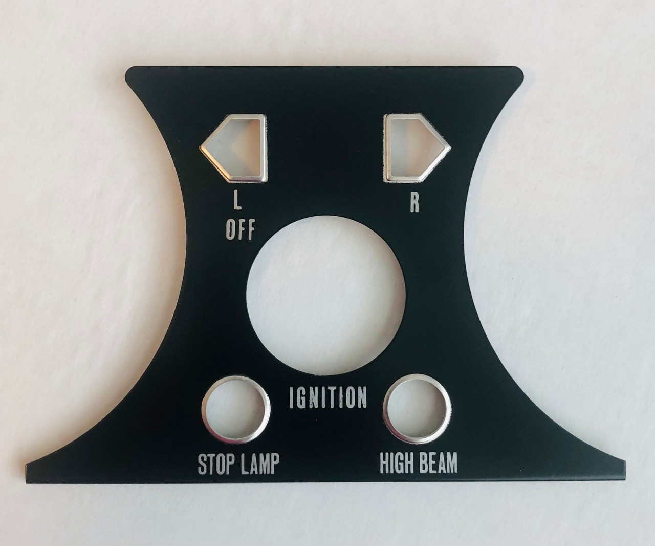 Yamaha RD250 RD350 1973-1975 Ignition Trim Plate HVC20087-9  360-83519-41-98
