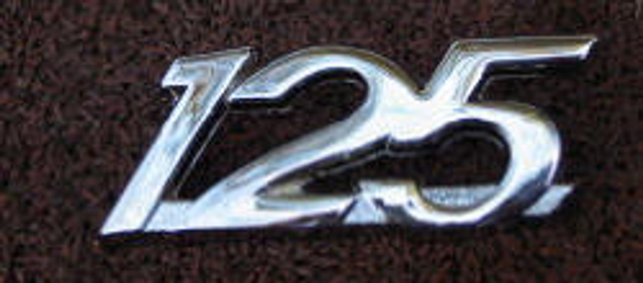 Yamaha AS1 Side cover Badge YS13