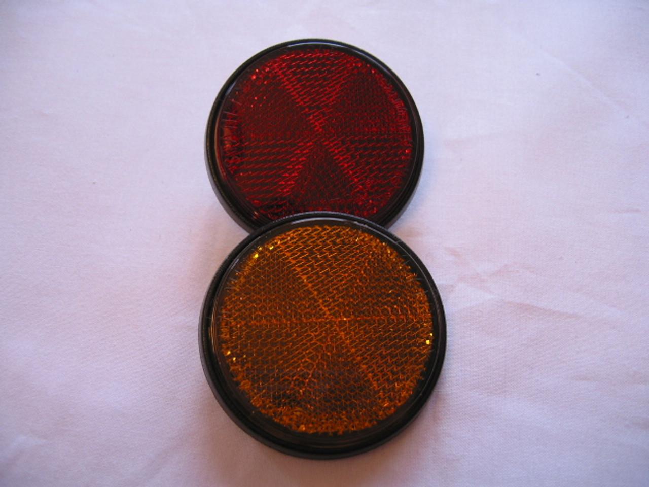 Yamaha Amber Reflector, 355-85111-01-00, HVC20053