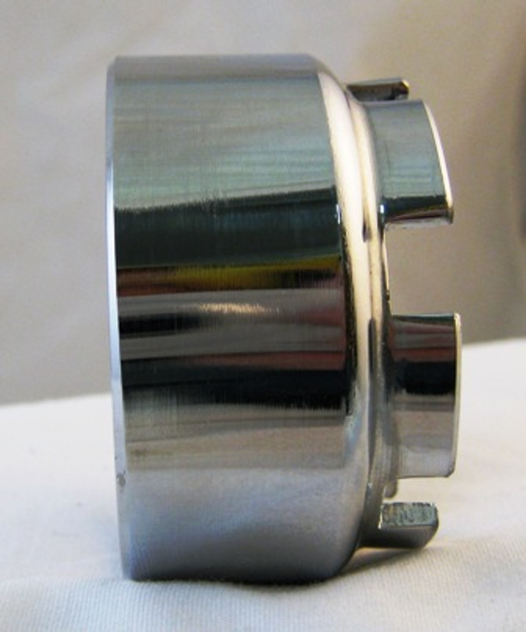 Chrome Plated Exhaust Castle Nut, 360-14713-00-00