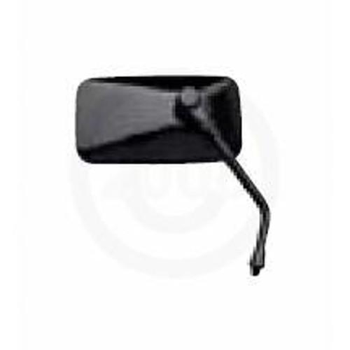 10mm Stem Rectangle, Black  Mirror LH Thread, 20-42447