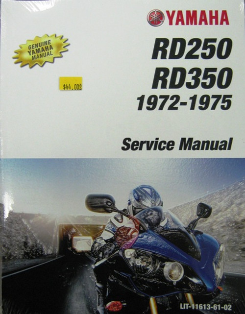 Yamaha Service Manual  Yamaha DS7/ R5/RD250/RD350