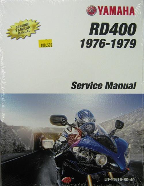 Yamaha Service Manual for Yamaha RD400