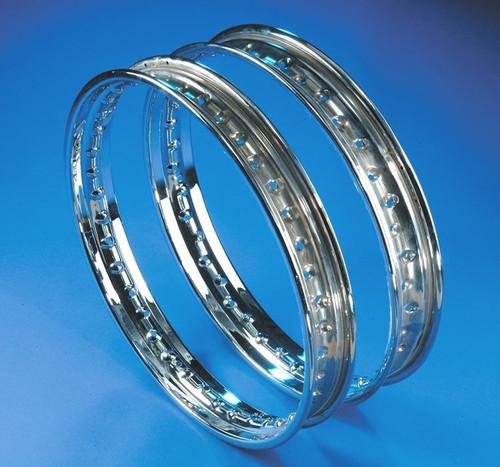 Yamaha Rear Chrome Rim, Drum Brake 1.85 x 18, 36 Hole, HVC200140-1, 94418-18026-00