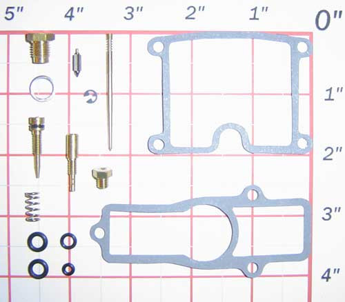 Kawasaki Carb Repair Kit for KZ550 (80-83)
